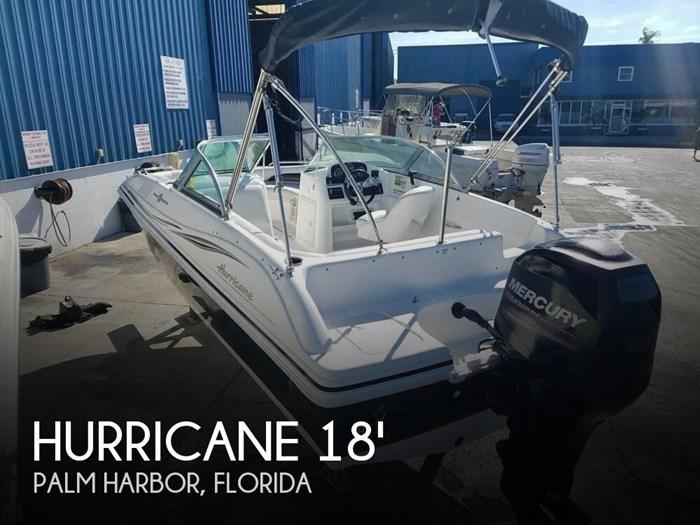 2013 Hurricane 187 Sun deck Photo 1 of 20