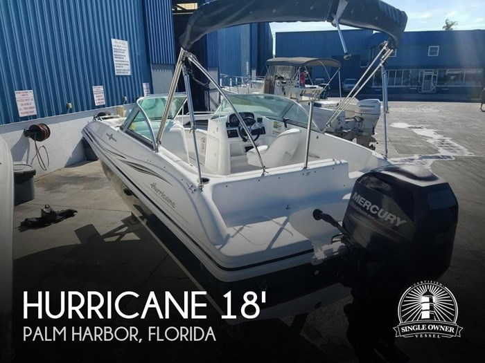 2013 Hurricane 187 Sun deck Photo 1 of 21