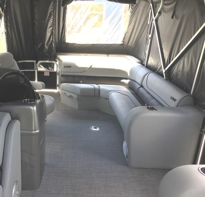 2018 Lowe SS210 Mercury 115HP Full Enclosure Tri-Toon Photo 5 of 15