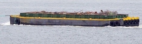 1950 Cape Class Hopper Barge 146' x 38' x 17.5' Photo 1 of 3