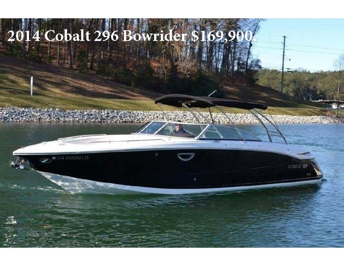 2014 Cobalt 296 Photo 1 of 12