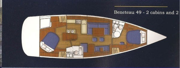2007 Beneteau 49 Photo 6 sur 23