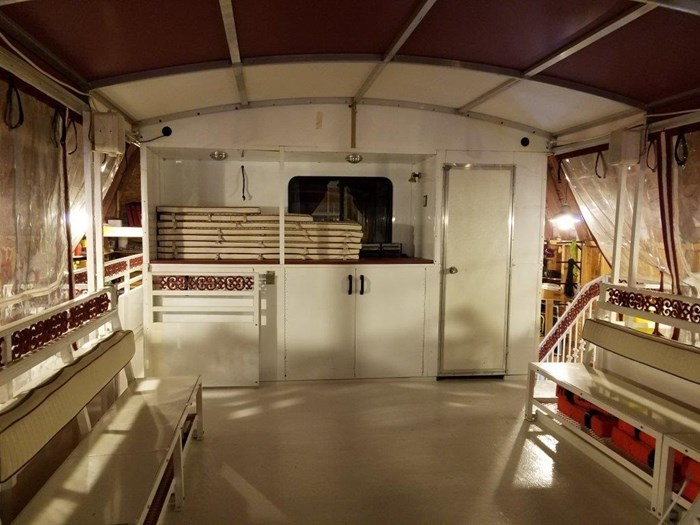 2008 60' x 16' Tri-toon Passenger Vessel Photo 12 of 15