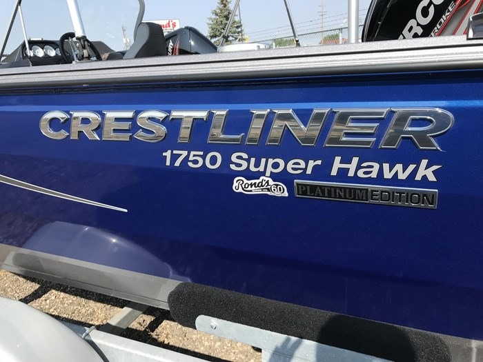 2017 Crestliner 1750 Super Hawk Photo 2 sur 14