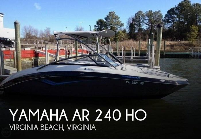 2014 Yamaha AR 240 HO Photo 1 sur 20