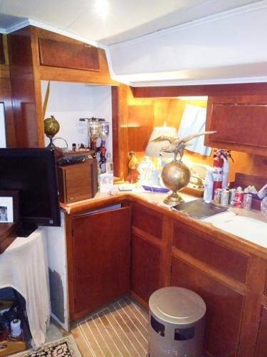 1997 Bruce Roberts Custom 63 Pilothouse Ketch Photo 25 sur 48