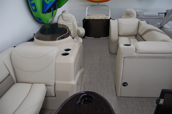 2019 Sylvan Mirage Fish 8522 Party Fish Photo 3 of 14