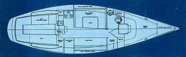 1974 Ranger Yachts Ranger 33 Photo 14 sur 15