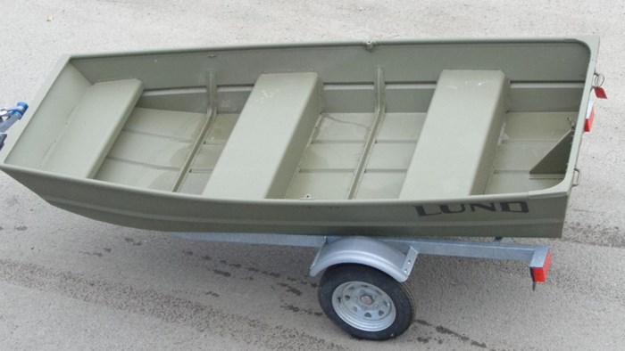 2021 Lund 1040 Jon Boat Photo 2 sur 6