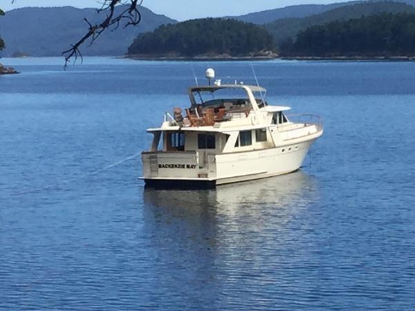 1985 Tollycraft 61 Pilothouse Motor Yacht Photo 32 sur 34