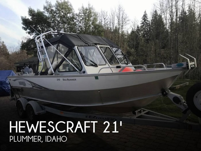 2015 Hewescraft 210 Sea Runner ET Photo 1 of 20