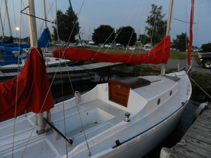 2005 26'  Seabird Yawl Thomas Day's 1901 Design (Rudder Magazine) Photo 8 sur 15