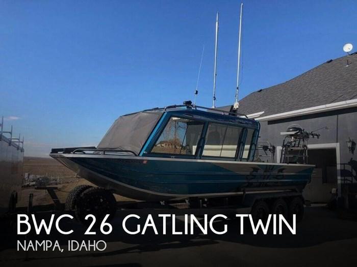 2012 BWC 26 Gatling Twin Photo 1 of 9
