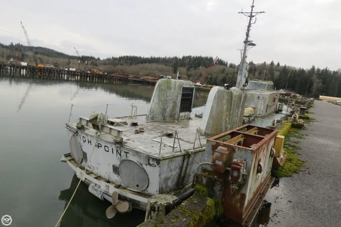 US Navy Hydrofoil 115 1962 Used Boat for Sale in Astoria, Oregon -  BoatDealers ca
