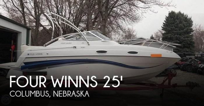 1999 Four Winns 258 Vista Cruiser Photo 1 sur 20