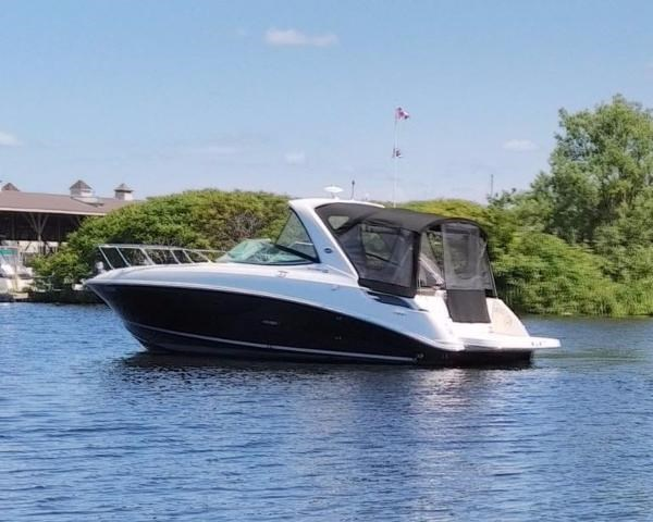 Sea Ray 310 Sundancer 2014 Used Boat For Sale In Morrisburg Ontario Boatdealers Ca