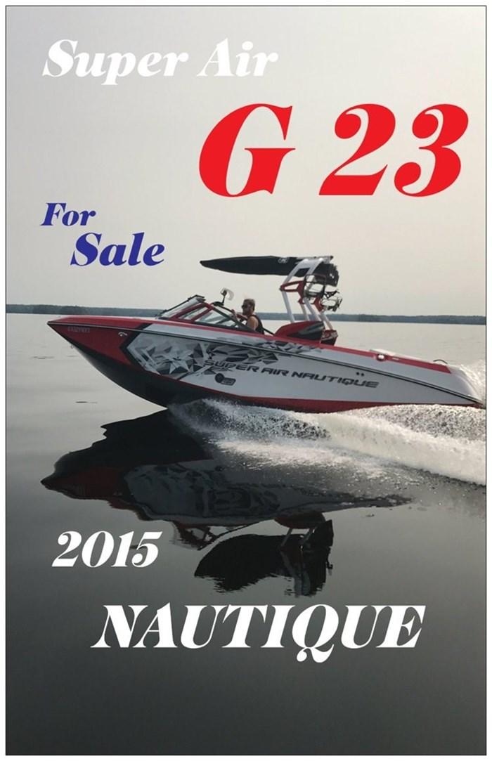 2015 Nautique G23 Photo 2 of 9
