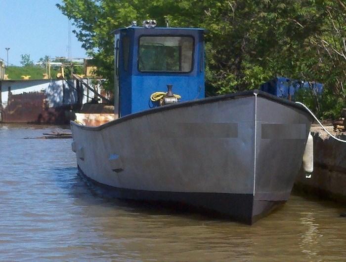 1990 36' x 9'3 x 4.2' Steel Trapnetter/Minnow Boat Photo 2 sur 3