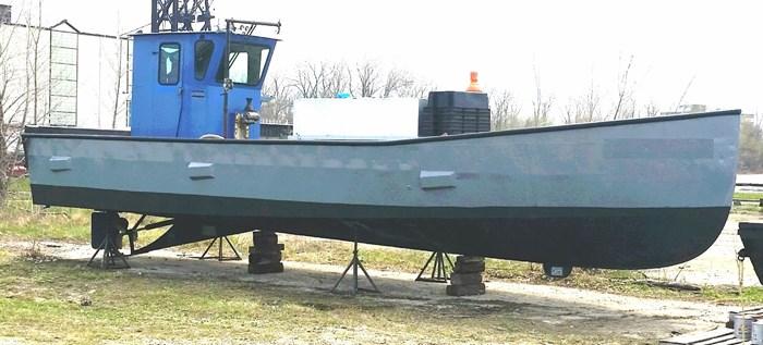 1990 36' x 9'3 x 4.2' Steel Trapnetter/Minnow Boat Photo 3 sur 3