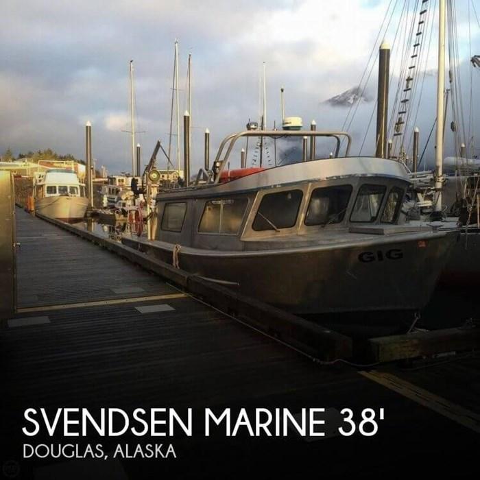 1994 Svendsen Marine 38 Jet Sport Cruiser Photo 1 sur 20