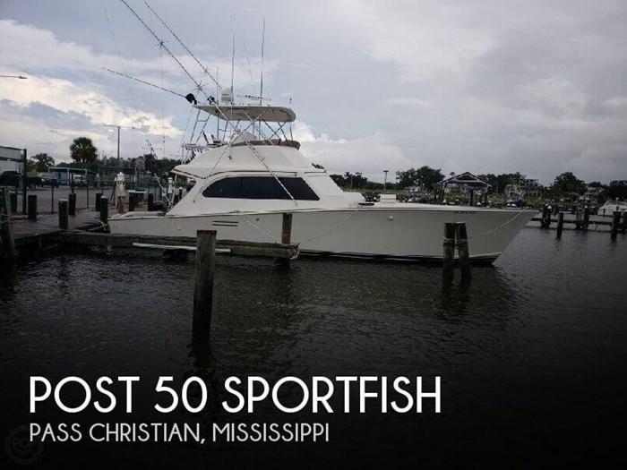 1986 Post 50 SportFish Photo 1 of 20
