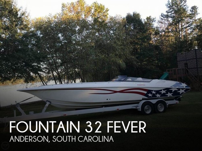 2000 Fountain 32 Fever Photo 1 sur 20