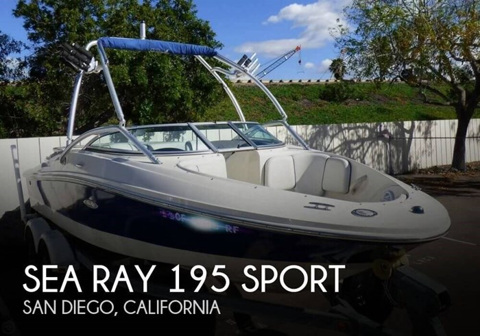 2006 Sea Ray 195 Sport Photo 1 sur 20