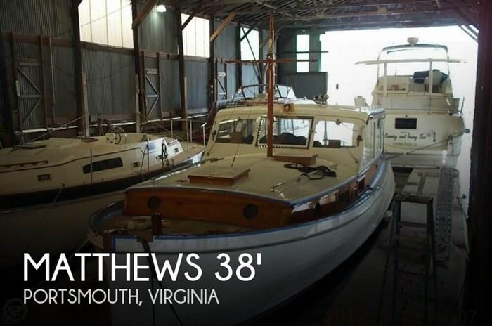 1941 Matthews 38 Cabin Cruiser Photo 1 of 20