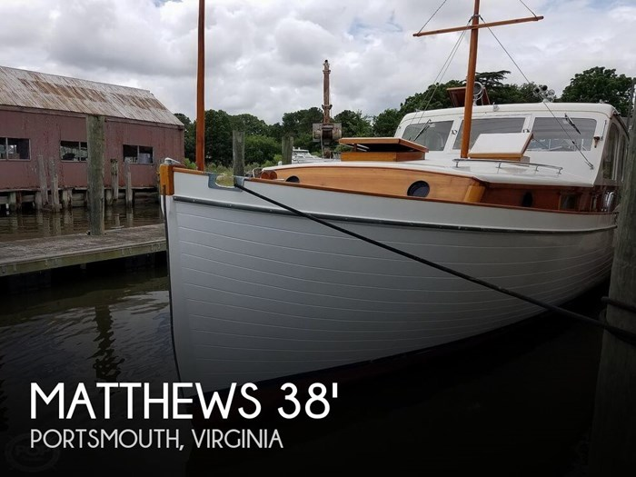 1941 Matthews 38 Cabin Cruiser Photo 1 sur 20