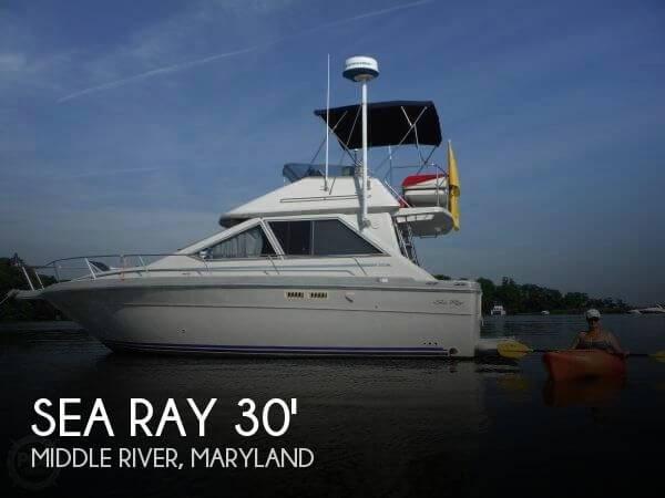 1988 Sea Ray 305 Sedan Bridge Photo 1 of 20