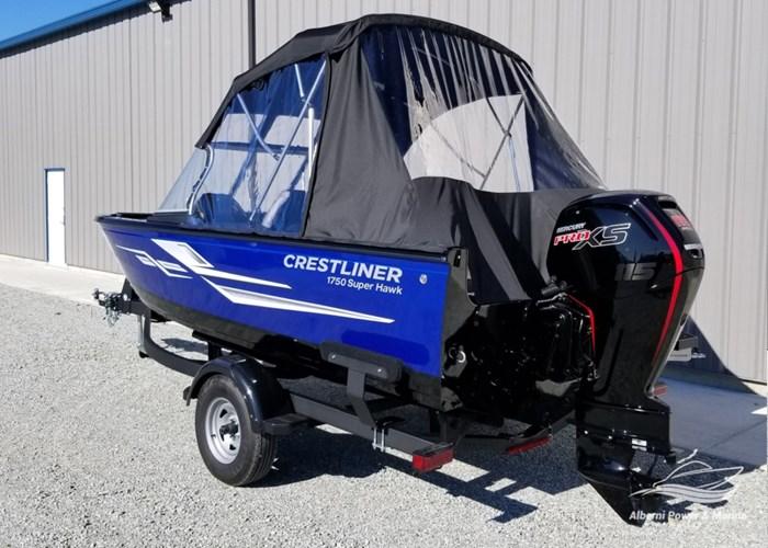 2019 Crestliner 1750 Super Hawk Blue Photo 8 of 56