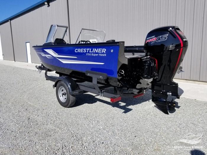 2019 Crestliner 1750 Super Hawk Blue Photo 9 of 56