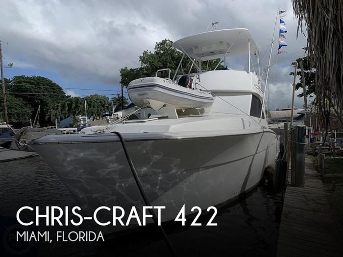1986 Chris-Craft 422 Commander Photo 1 sur 20