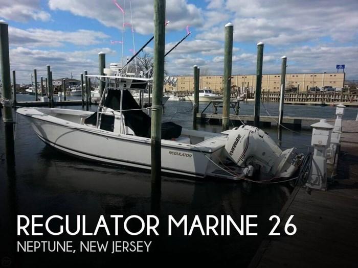 1992 Regulator Marine 26 Photo 1 sur 20