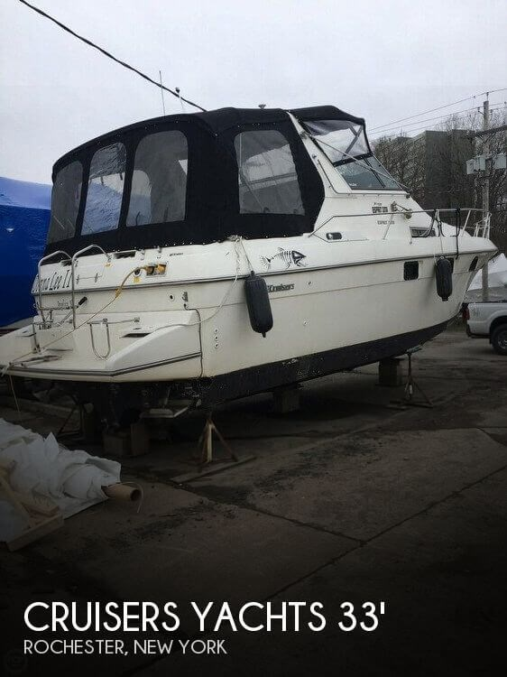 Cruisers Yachts 3370 Esprit 1992 Used Boat For Sale In Rochester New York Boatdealers Ca