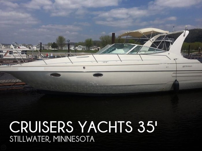 Cruisers Yachts 3570 Esprit 1995 Used Boat For Sale In Stillwater Minnesota Boatdealers Ca