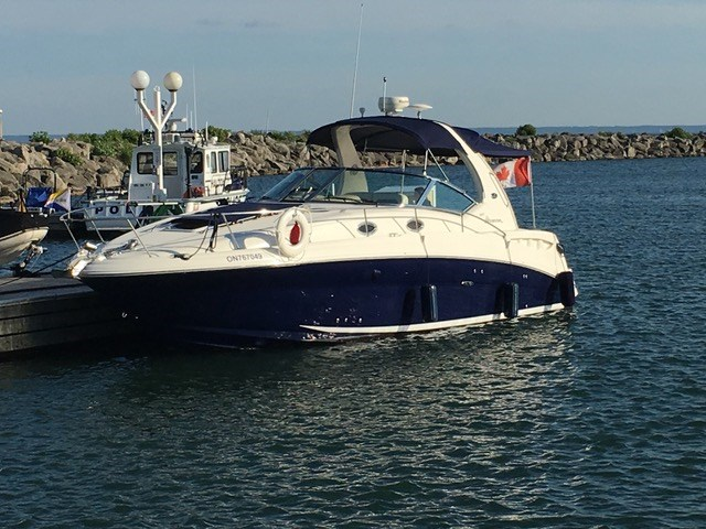 Sea Ray 320 Sundancer 2005 Used Boat For Sale In Toronto Ontario Boatdealers Ca
