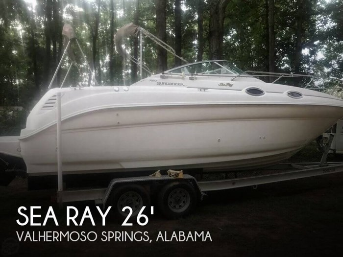 1999 Sea Ray 260 sundancer Photo 1 sur 19