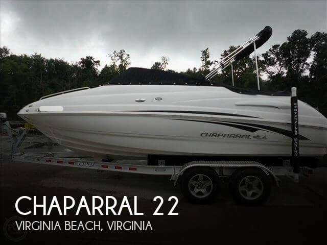 2010 Chaparral 215 SSI Photo 1 of 10
