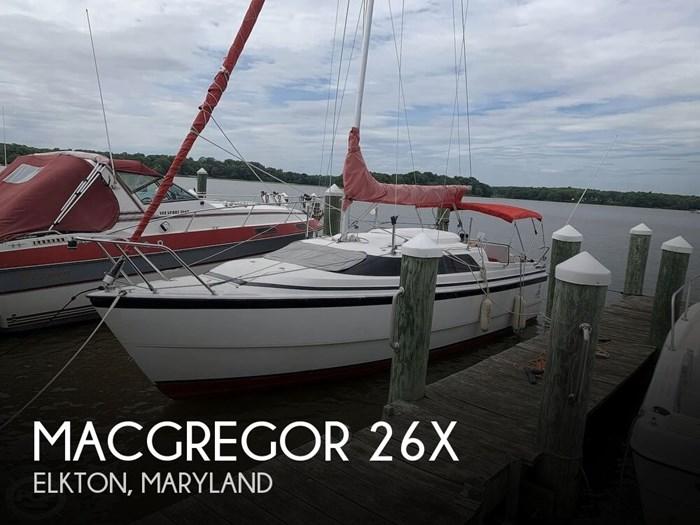 2002 MacGregor 26X Photo 1 sur 20