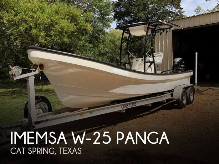 2016 Imemsa W-25 Panga Photo 1 of 20