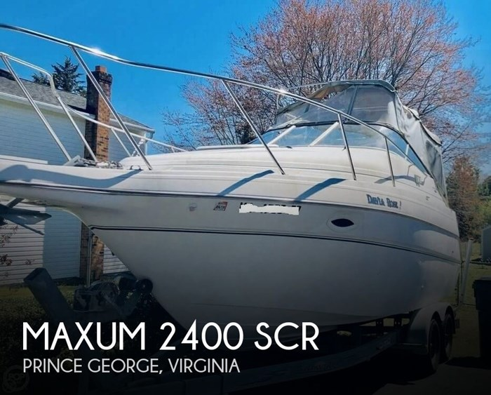 2003 Maxum 2400 SCR Photo 1 sur 6