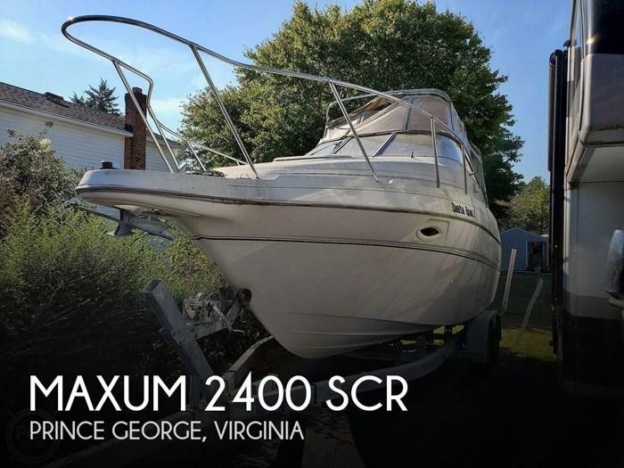 2003 Maxum 2400 SCR Photo 1 sur 20