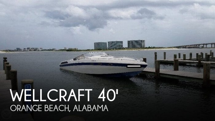Wellcraft Scarab 400 1987 Used Boat for Sale in Orange Beach, Alabama -  BoatDealers ca