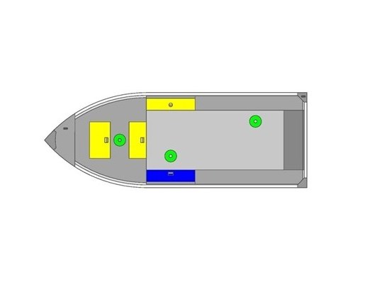 2019 MirroCraft Boat (Only) Troller Tiller 140T 20T - Blue Photo 2 of 14