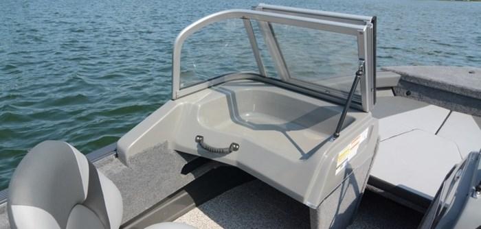 2021 MirroCraft Boat, Mercury 90HP Motor&Trailer (Pkg) Holiday 168 - 20T - Blue Photo 16 of 25