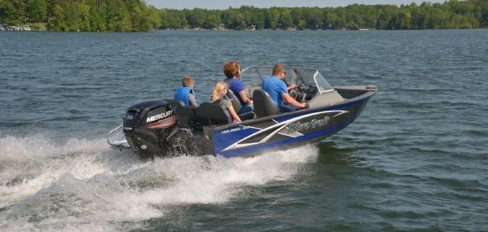 2021 MirroCraft Boat, Mercury 90HP Motor&Trailer (Pkg) Holiday 168 - 20T - Blue Photo 14 of 25