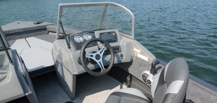2021 MirroCraft Boat, Mercury 90HP Motor&Trailer (Pkg) Holiday 168 - 20T - Blue Photo 15 of 25