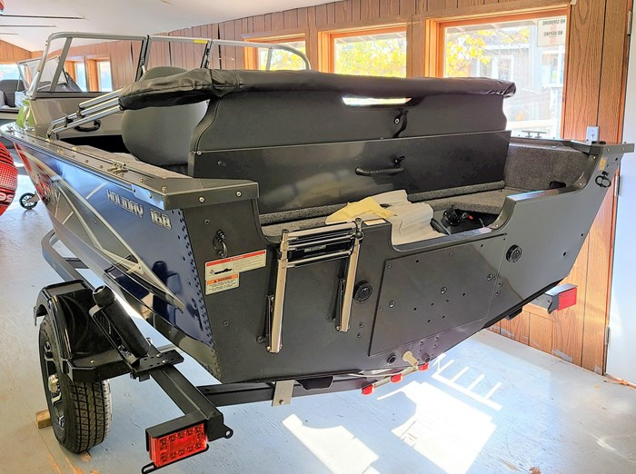 2021 MirroCraft Boat, Mercury 90HP Motor&Trailer (Pkg) Holiday 168 - 20T - Blue Photo 4 of 25