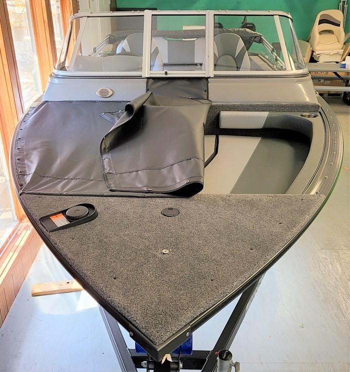 2021 MirroCraft Boat, Mercury 90HP Motor&Trailer (Pkg) Holiday 168 - 20T - Blue Photo 5 of 25